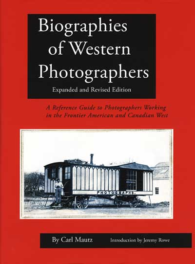 Biographies of Western Photographers - 2018 Edition