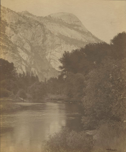 Softly Focused Pictorial Yosemite Scene by Oscar H. Hanson