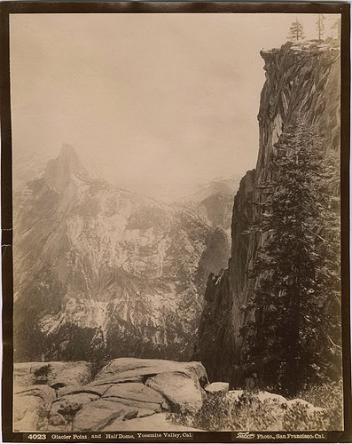 Glacier Point & Half Dome, Isaiah Taber, c. 1880