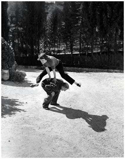 Marc Chagall at Play