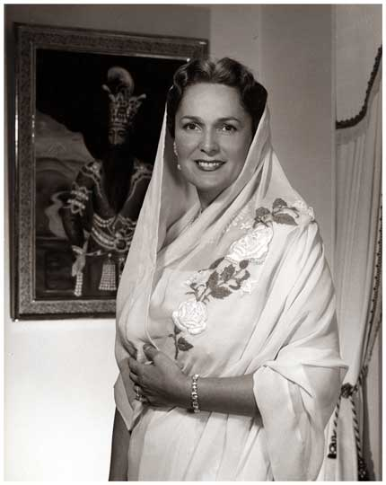 Begum Khan 1955