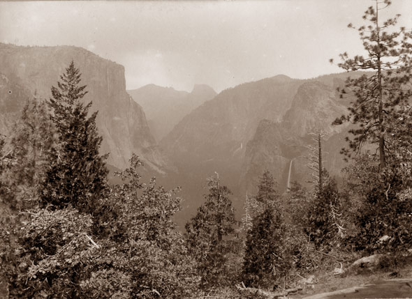 Yosemite Valley by Archibald Treat c. 1900
