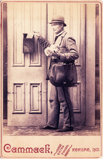 Occupational - Postman c. 1890