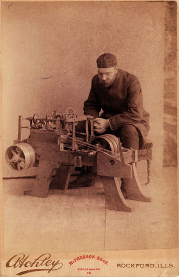 Occupational - Machinist c. 1890